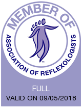 Perfect Balance Colchester is a proud member of the association of reflexology.